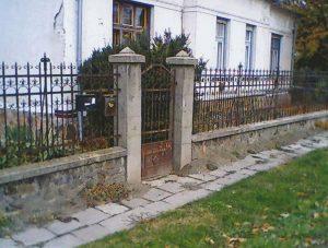 1970-es évek, Füster Gyula egykori lakóháza. Az ház ma is áll a Bóné Kálmán utcában.