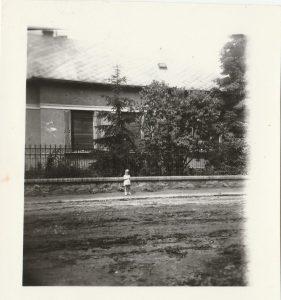 Füster Gyula Bóné utcai háza, 1960-as évek.