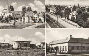 Első képen a Sirály vendéglő épülete látszik, ami egykor Bóné Gyula tulajdonát képezte. Ettől jobbra a Bóné Kálmán utca felülnézetes fényképe van, alatta pedig a gárdonyi Községháza (újabb nevén Nemzedékek Háza), átépítése előtt. A bal alsó képen egy kis víkendház mutatkozik meg, amely azidőben igencsak elterjedt volt a gárdonyi nyaraló tulajdonosok körében. Mindegyik fotó, az 1960-as évekre tehető.