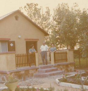 Átépített Naphal utcai ház, amely korábban a Smolcz család tulajdonában állt.