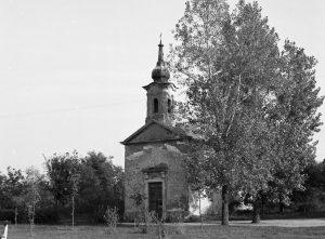 Szent Anna kápolna (Gárdonyi Géza megkeresztelésének helyszíne) az 1960-as években.