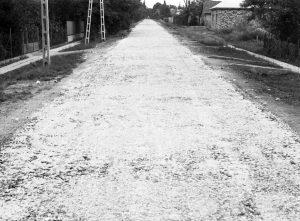 Gárdony, Ady Endre utca az 1970-es években