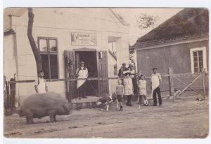 II. világháború előtti kép, Kalmár Vilmos Bóné utcai vágóhídjáról