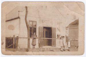Kalmár Vilmos vágóhídja a II. világháború előtt időkben, a Bóné Kálmán (egykor Öreg) utcában.