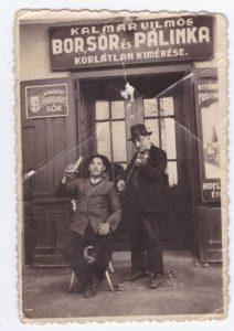 Kalmár Vilmos kocsmája a II. világháború előtti időkben